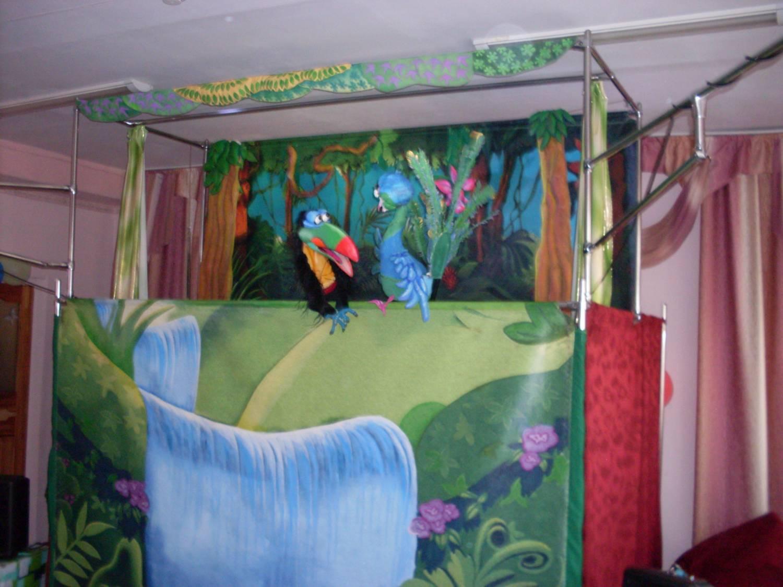 Декорация для кукольного театра